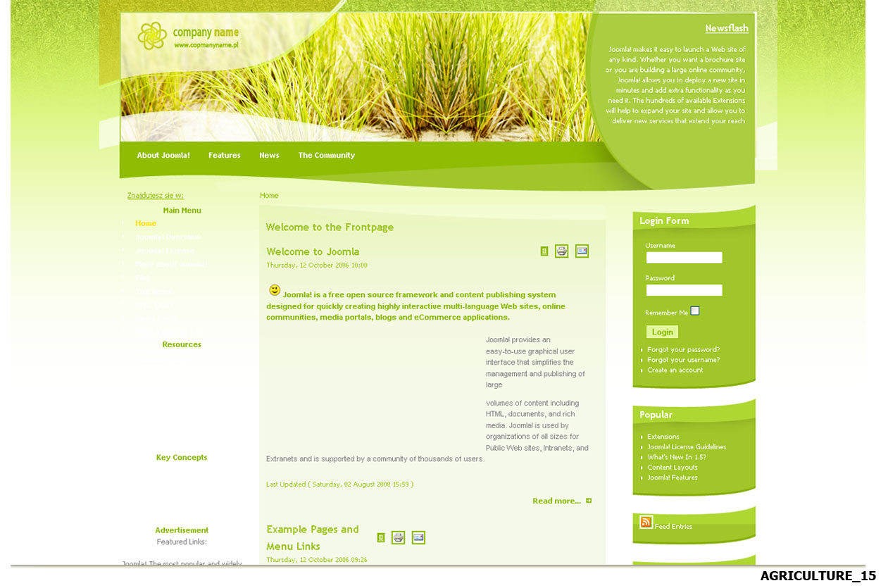 Gregory's Blog - Free cms templates websites